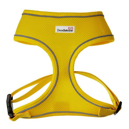 Doodlebone Yellow Airmesh Harness - Medium