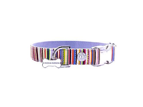 Hugo & Hudson Multicolour Stripe Collar - Small