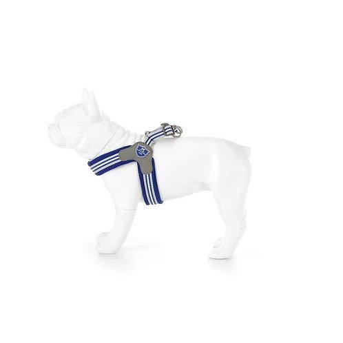 Hugo & Hudson Blue Stripe Easy Fit Harness - Size 8