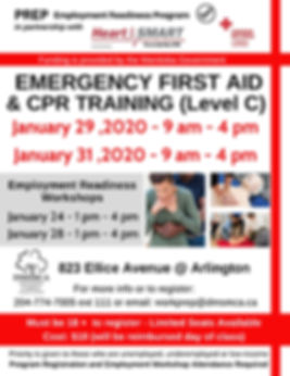 Emergency First Aid_CPR Poster January 2