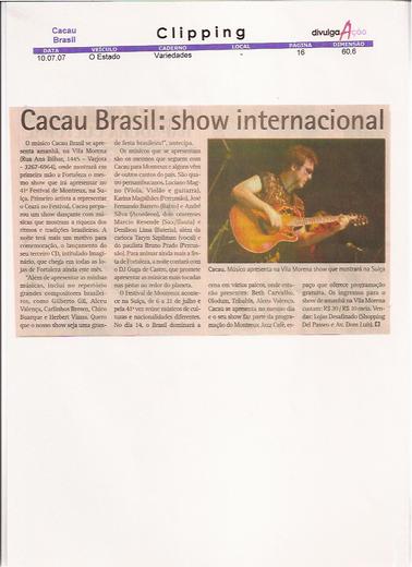 Show Cacau Brasil - Fortaleza