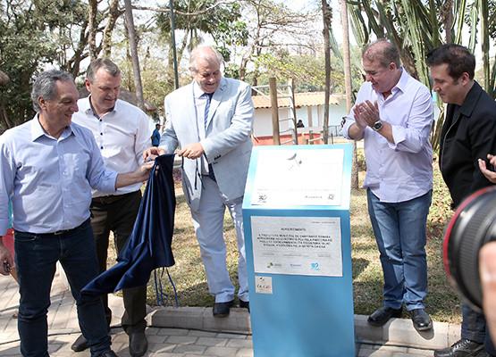 Lançamento do Porjeto ´´Olho d`água`` no Parque Portugal - Campinas