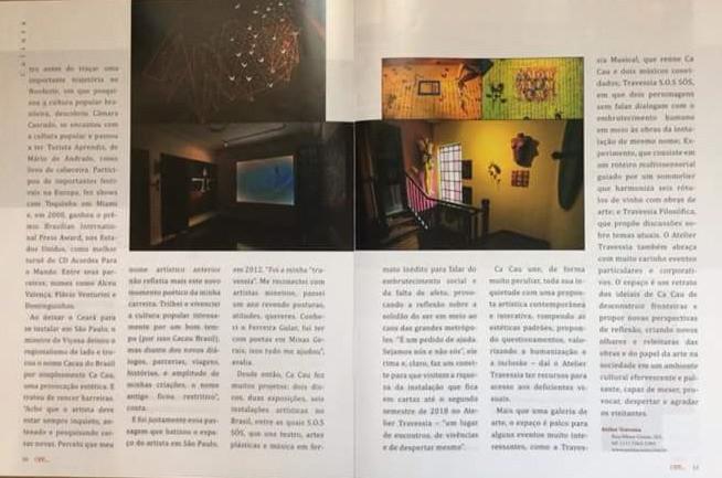 Matéria Revista Higinópolis - Atelier Travessia