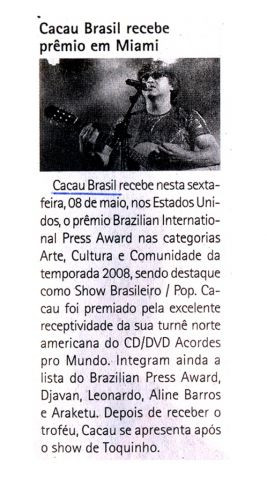 06-mai-10 O Estado - Variedades - Felipe