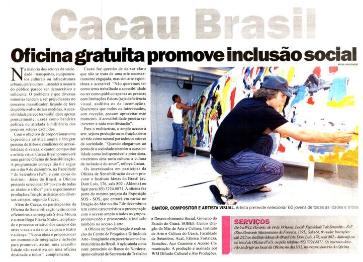 Oficina Cacau Brasil