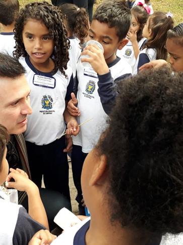 Associação Douglas Andreani no Lançamento do Projeto ´´Olho d`água``