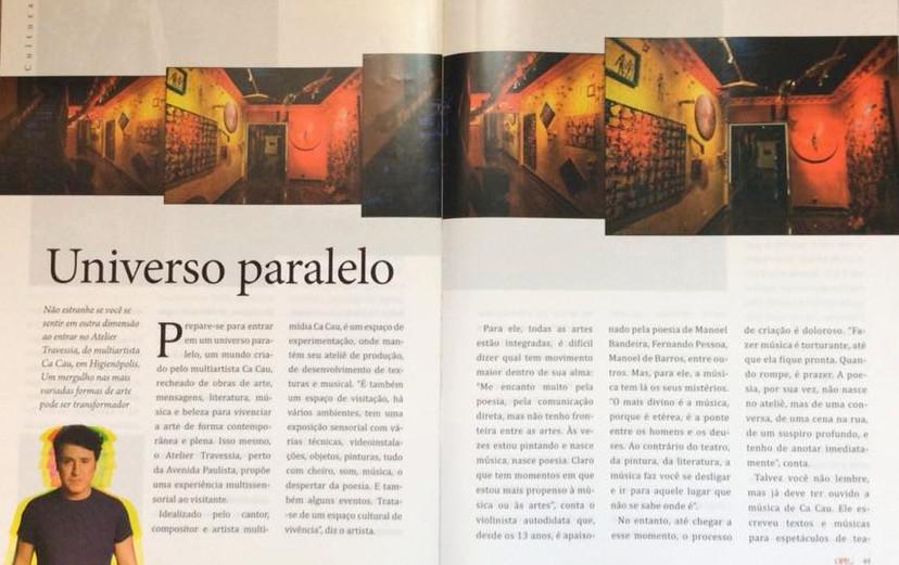 Matéria Revista Higienópolis - Atelier Travessia