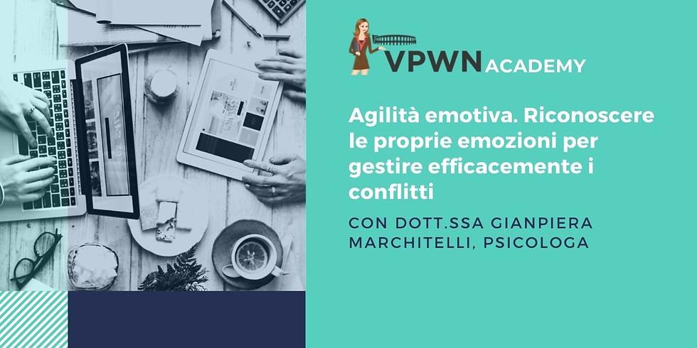 VPWN Academy: Agilità Emotiva con Dott.ssa Gianpiera Marchitelli