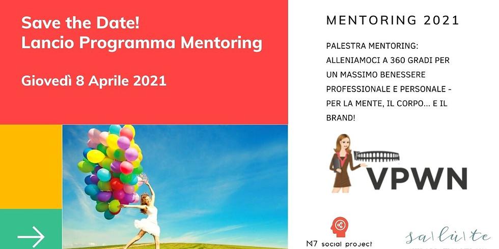 VPWN Palestra Mentoring: Lancio Programma 2021