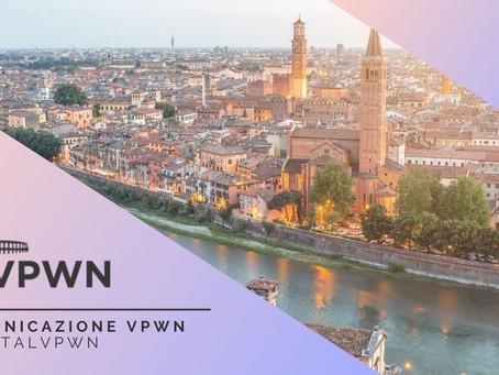 Comunicazione Verona PWN: Situazione Covid-19