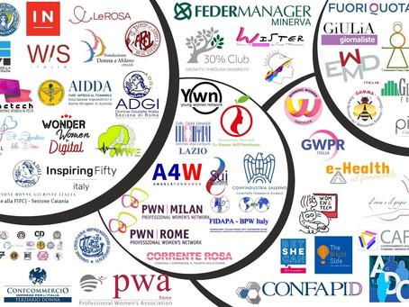VPWN per Inclusione Donna: obiettivi 2021 per occupazione e rappresentanza femminile