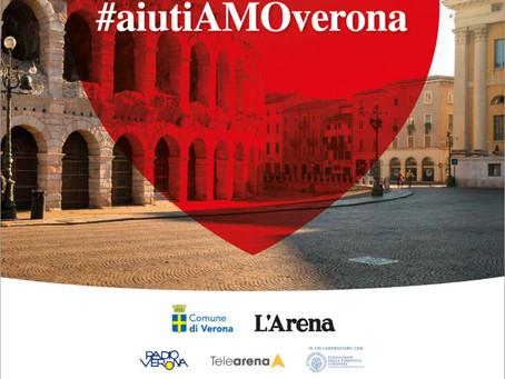 Verona PWN fa una donazione ad AiutiAMO Verona per aiutare gli ospedali veronesi