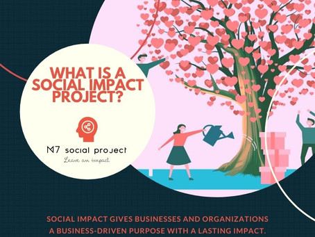 """What is a """"corporate"""" social impact project?"""