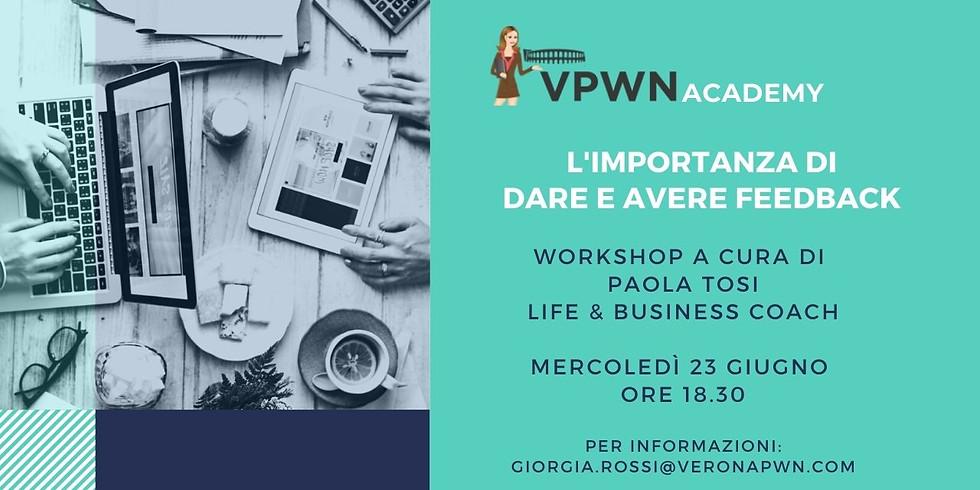 VPWN Academy: L'importanza di dare e avere feedback