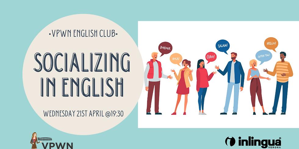 English Club: Socializing in English