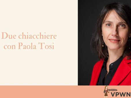 """Ai tempi del Coronavirus, storie di """"disciplina"""" e opportunità: due chiacchiere con Paola Tosi"""