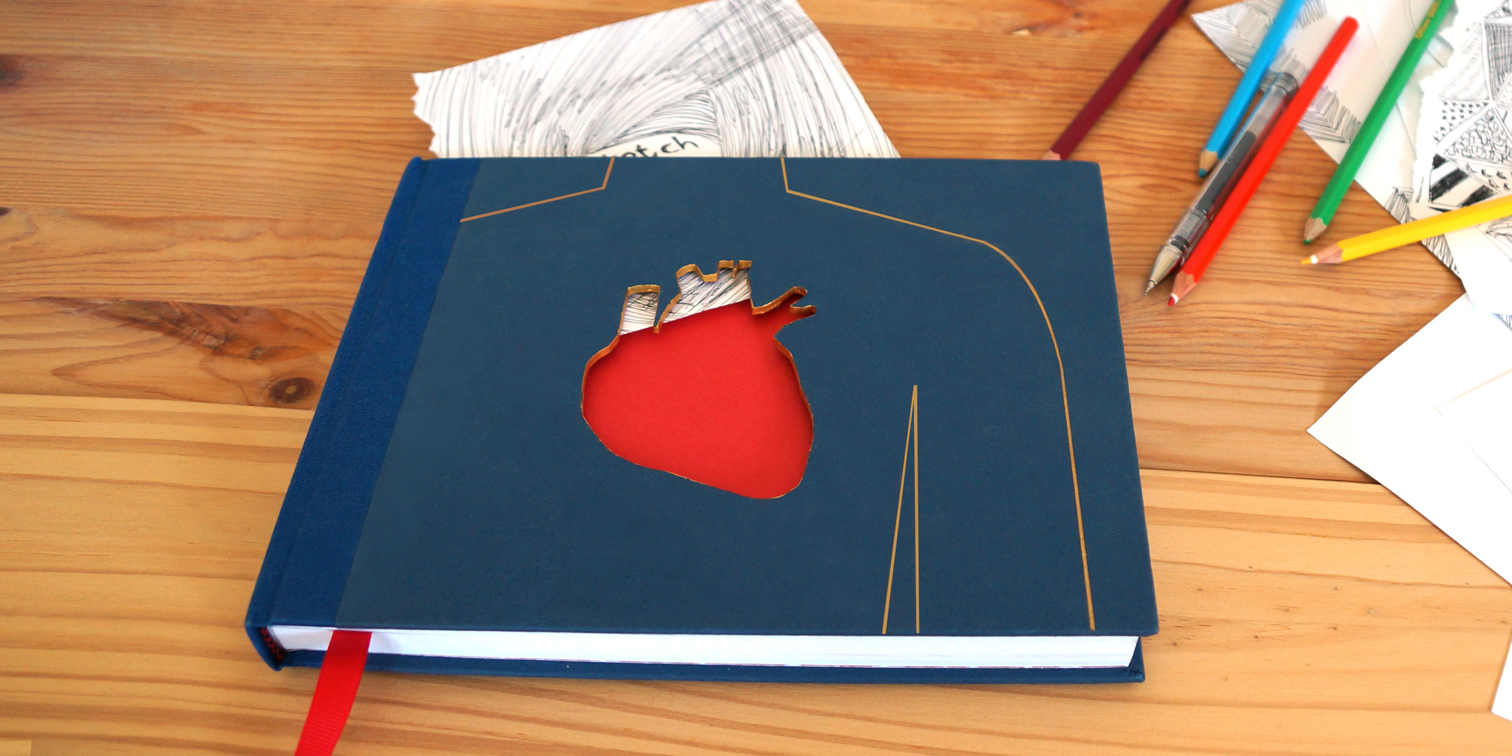 Heart Sketchbook