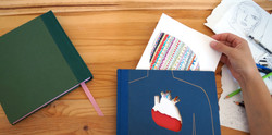 Pieces of me Sketchbooks