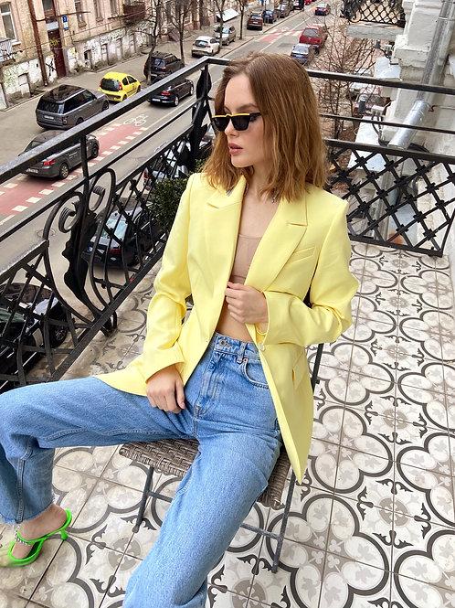Lime Color Jacket