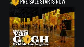 Pre-Sale Tickets Now On Sale for Immersive Van Gogh LA