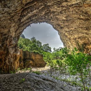Höhle von Osp, Slowenien
