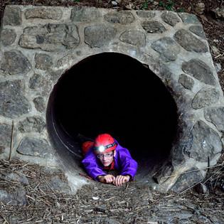 Höhlenforscher auf Abwegen