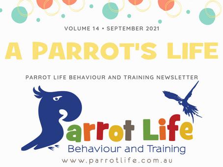 Parrot Life Newsletter September 2021