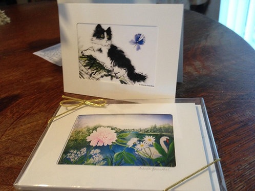 Mini-Print Greeting Cards (4 different images)