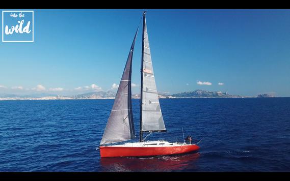 #041 Adrenaline sailing boat, Marseille (France)