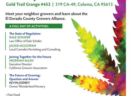 El Dorado County Grower Meeting February 10th