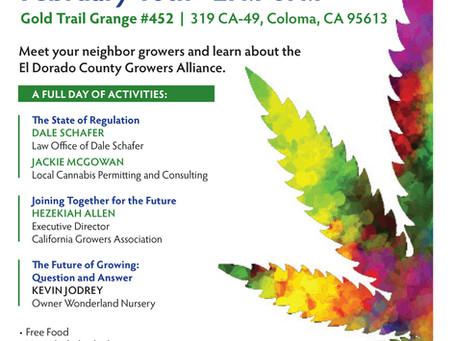 El Dorado County Grower Meeting February 10th