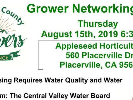 August 15th 2019 Members Meeting