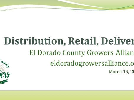 March 19th Presentation Distribution