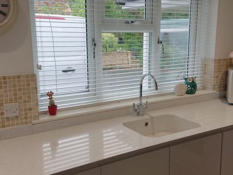 Wooden Blinds & Kitchen Install