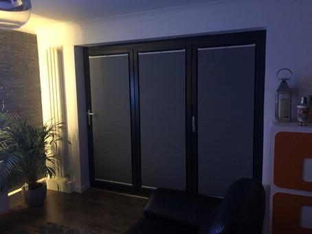 BI Fold Door Thermal Blinds
