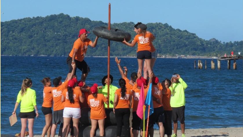 Team Building en la playa