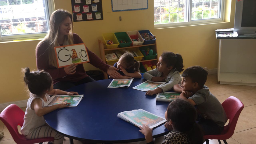 Teacching pre-school