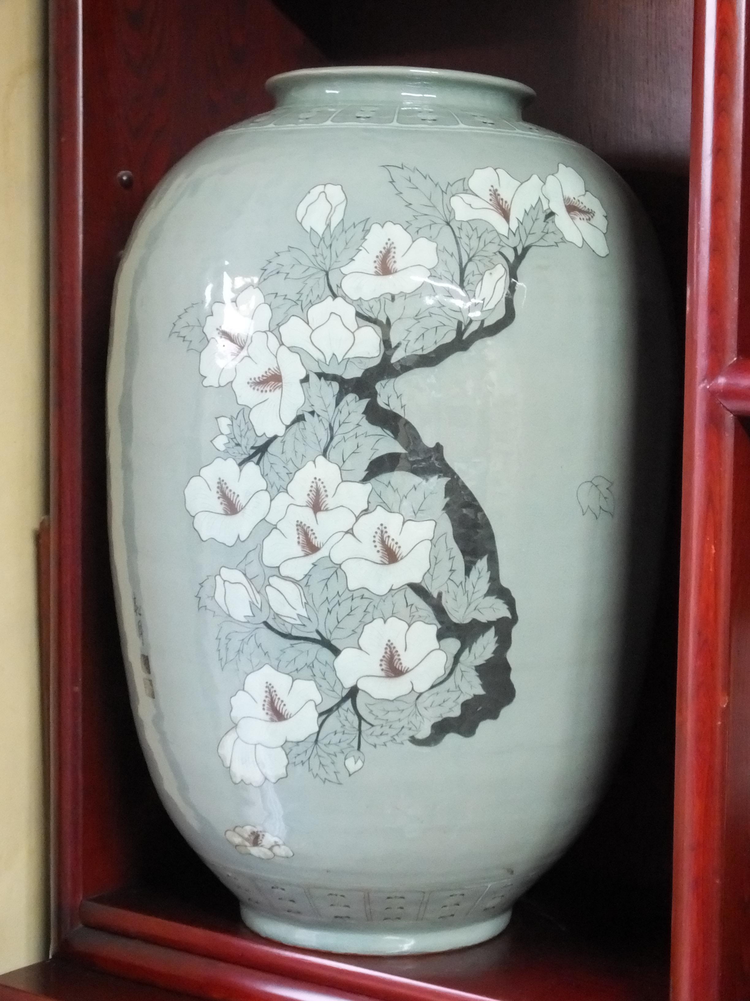 Traditional Cherry blossom Urn