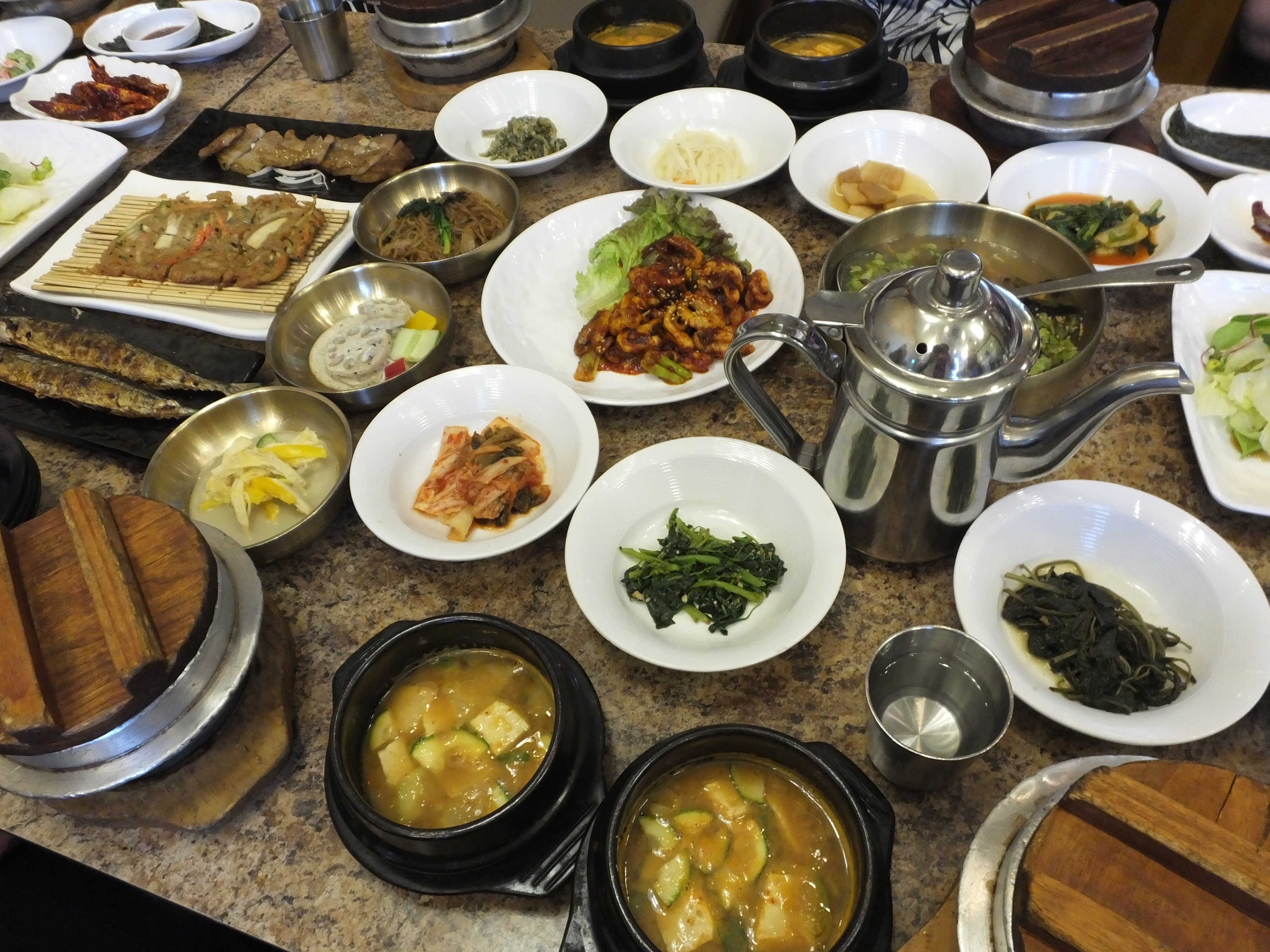 Side Dishes galore