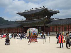 Inside the Palace gates