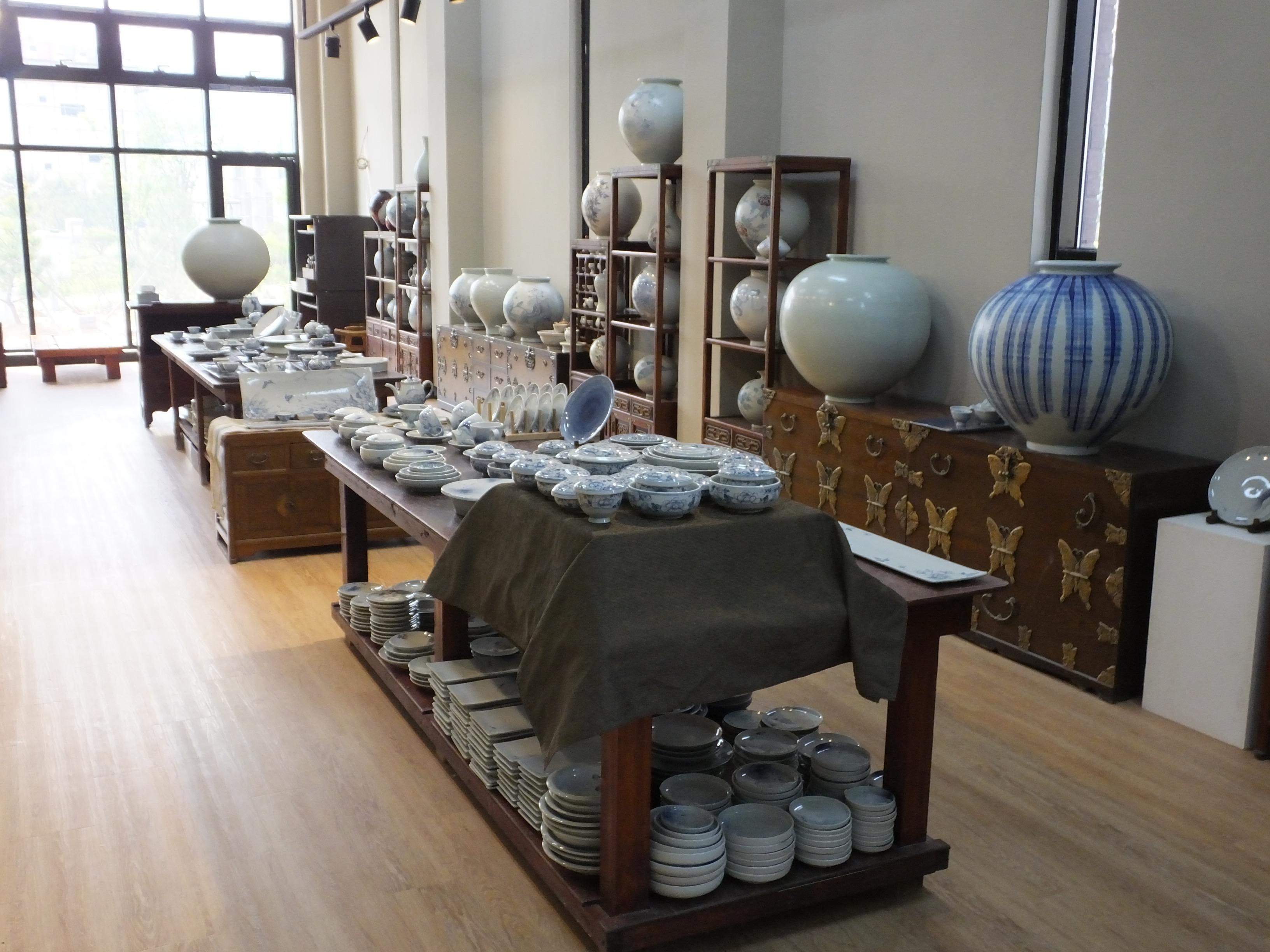 Korean Master's Store Display