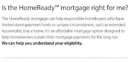 HomeReady FAQ