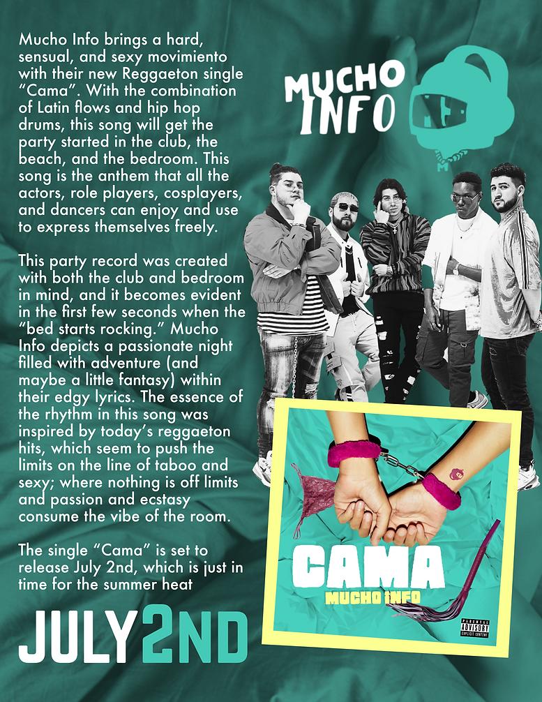 Cama One Sheet