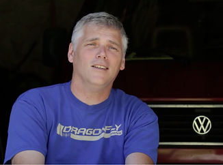Scott Quinnett, owner of Dragonflyvans