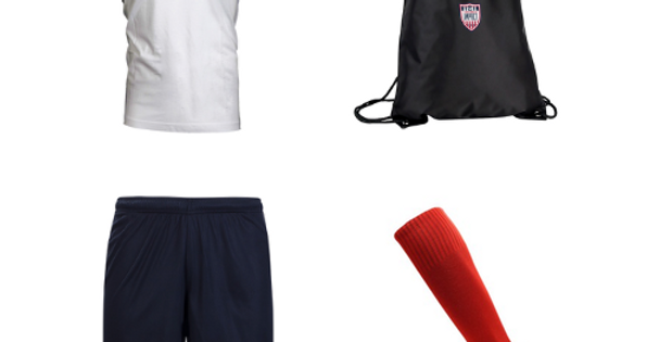 CSA Impact U5-U6 Recreational Program Required Uniform Kit