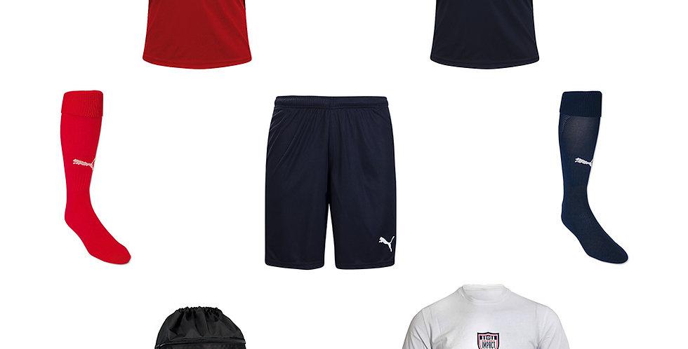 CSA Impact U8-U19 Recreational Program Required Uniform Kit