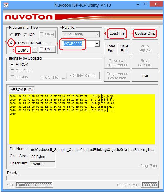 Nuvoton Micro Controller