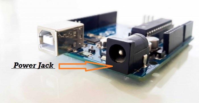 power jack of arduino