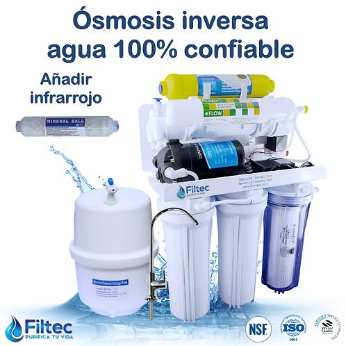 Filtec RO50-6R GPD Con Filtro Infrarrojo