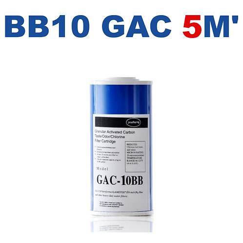 Cartucho BB10 GAC Carbón Granulado 5M